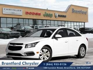 2015 Chevrolet Cruze 4DR SDN - Bluetooth -  Siriusxm - $108.76 B/W Sedan