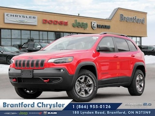 2019 Jeep New Cherokee Trailhawk - Navigation -  Uconnect SUV