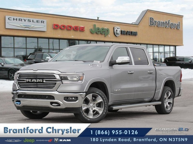 2019 Ram All-New 1500 Laramie - Leather Seats -  Cooled Seats - $429.78 Truck Crew Cab