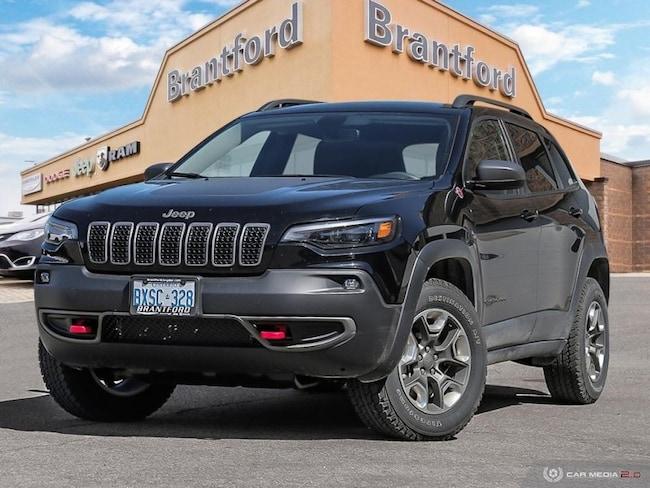 2019 Jeep Cherokee Trailhawk - Navigation -  Uconnect - $244.90 B/W SUV