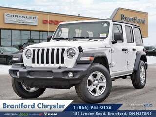 2018 Jeep All-New Wrangler Sport - Uconnect - $305.57 B/W SUV