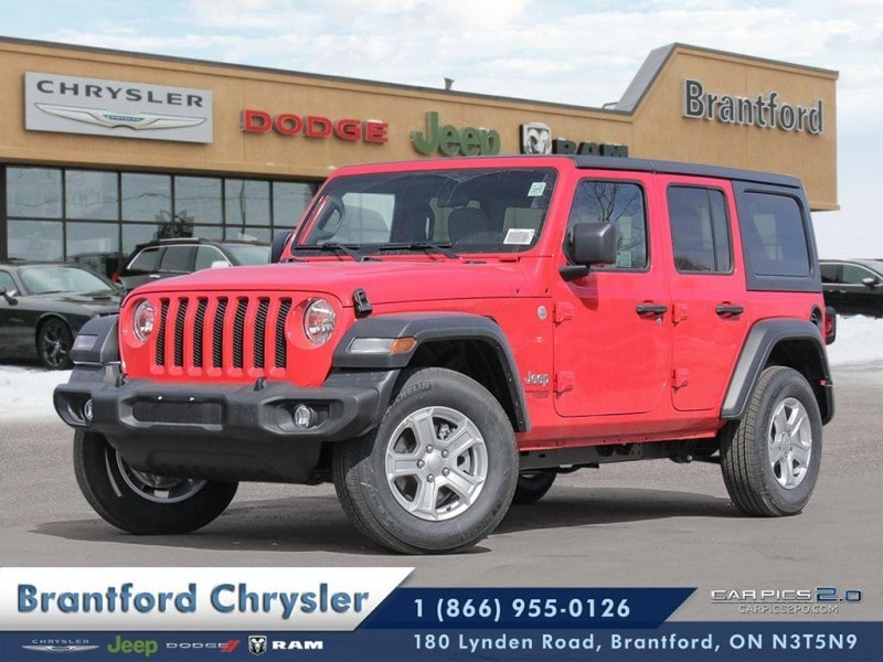 2018 Jeep All-New Wrangler Sport - Trailer Tow - $314.85 B/W SUV
