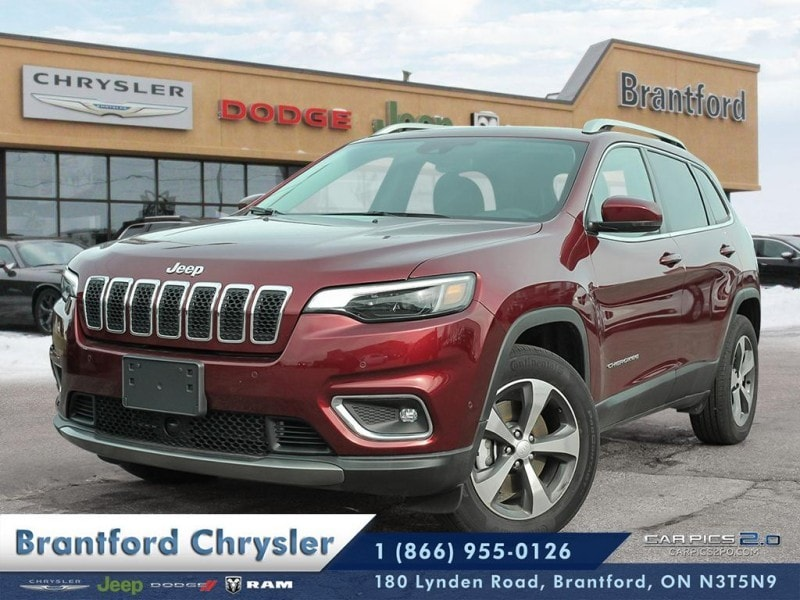 2019 Jeep Cherokee Limited - Navigation -  Uconnect - $261.94 B/W SUV