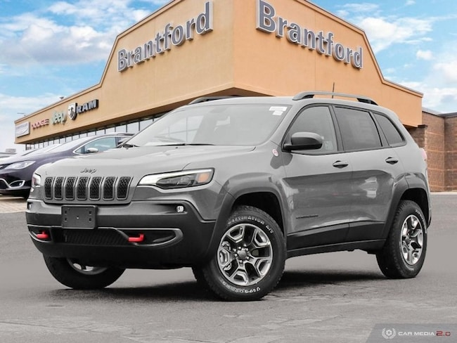 2019 Jeep Cherokee Trailhawk - Navigation -  Uconnect - $250.60 B/W SUV