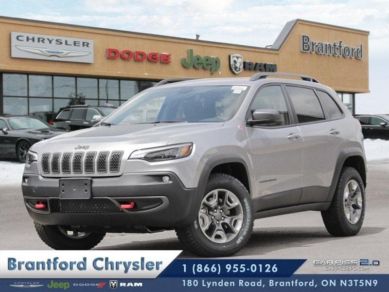 2019 Jeep Cherokee Trailhawk - Navigation -  Uconnect - $242.86 B/W SUV
