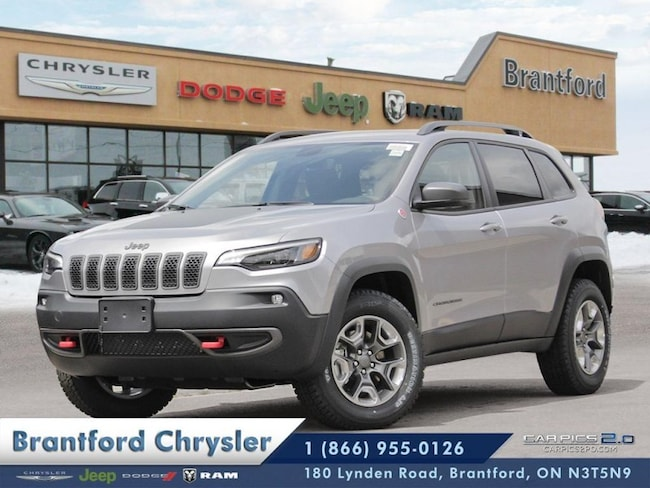 2019 Jeep Cherokee Trailhawk - Navigation -  Uconnect SUV