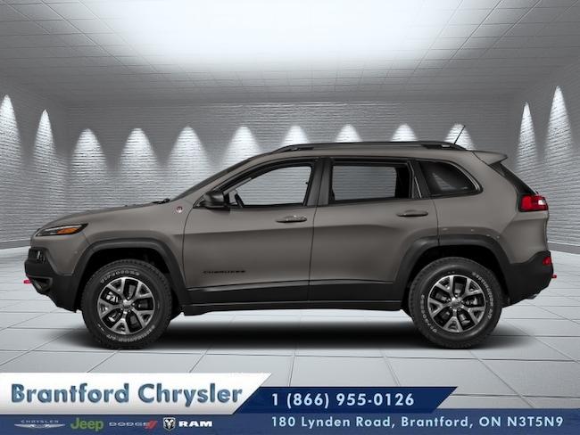 2018 Jeep Cherokee Trailhawk - Leather Seats  - $300.61 B/W SUV