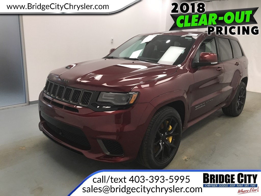 2018 Jeep Grand Cherokee SRT Trackhawk- 707 HP!  *Special Pricing* SUV