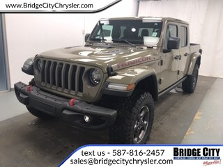 2020 Jeep Gladiator Rubicon- NAV- Blind-Spot- Leather- Trailer Tow! Truck Crew Cab