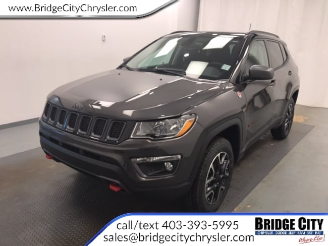 2019 Jeep Compass Trailhawk- 8.4