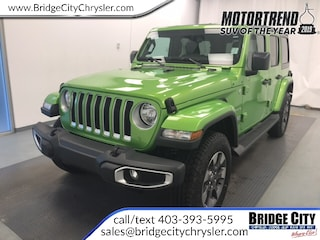 2018 Jeep All-New Wrangler Unlimited Sahara- 2.0L Turbo, Dual Tops, Leather! SUV