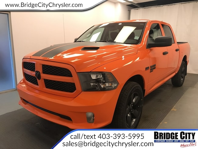 2019 Ram 1500 Classic Express Ignition Orange- HEMI- Bluetooth! Truck Crew Cab