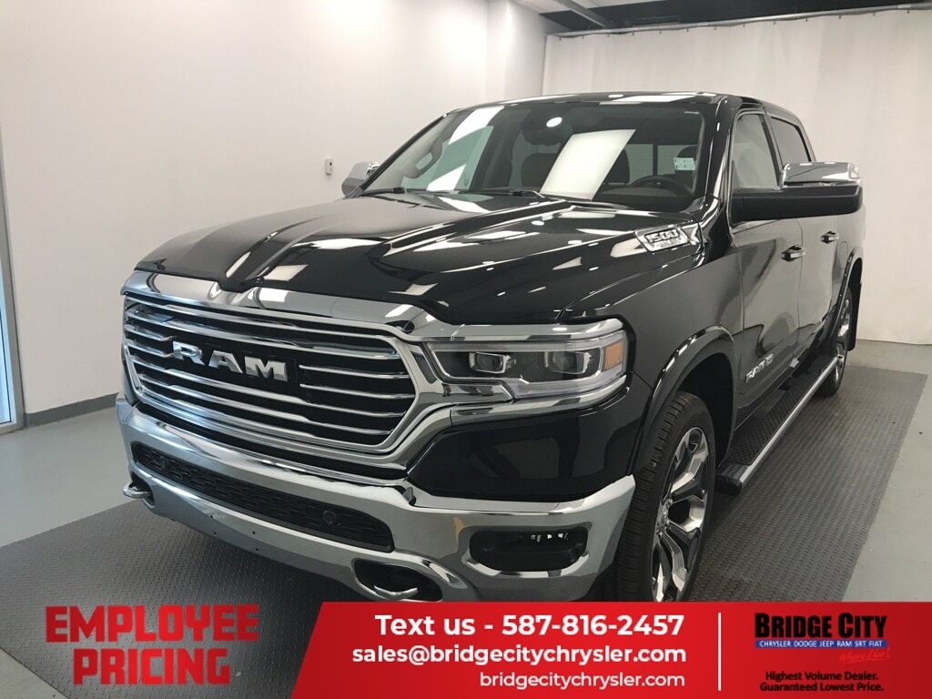 2019 Ram All-New 1500 Longhorn- EMPLOYEE PRICE! MOUNTAIN BROWN LEATHER! Truck Crew Cab