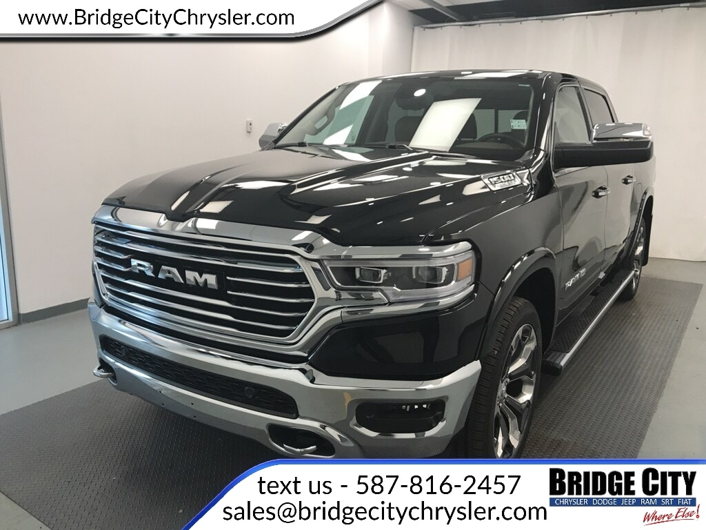 2019 Ram All-New 1500 Longhorn- NAV- Leather Seats- Trailer Tow! Truck Crew Cab