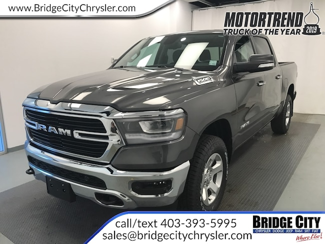 2019 Ram All-New 1500 Big Horn- Remote Start- Off-Road Group Truck Crew Cab