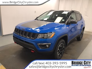 2019 Jeep Compass Trailhawk- NAV, Leather, Trailer Tow, Safety Group SUV