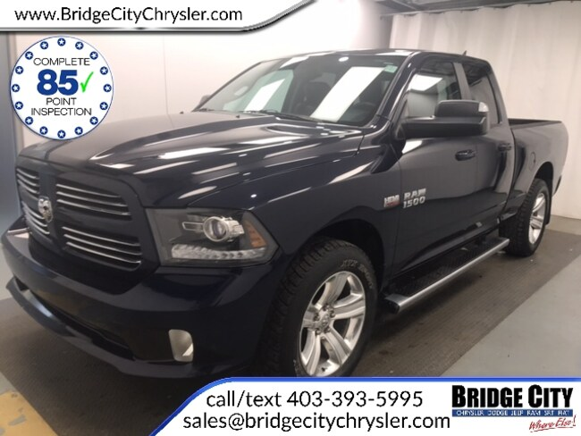 2015 Ram 1500 Sport Quad Cab- Trailer Tow, Remote Start, 3.92 Quad Cab