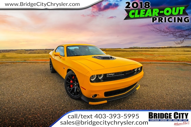 New 2018 Dodge Challenger 392 Hemi Scat Pack Shaker For Sale