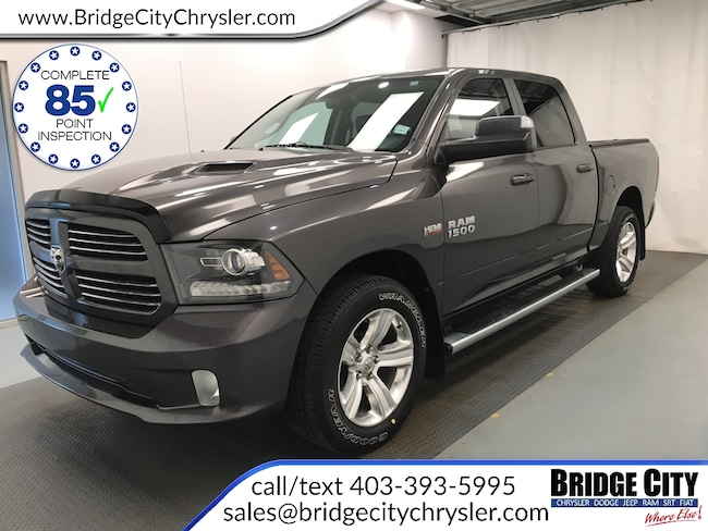 2015 Ram 1500 Sport Leather - One Owner Truck Crew Cab