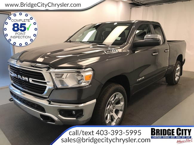 2019 Ram 1500 BIG Horn - Trailer Tow - Heated Seats Truck Quad Cab HEMI VVT V8 w/FuelSaver MDS