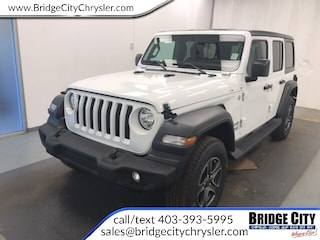 2018 Jeep All-New Wrangler Unlimited Sport S- 2.0L Turbo-Heated Seats-Safety SUV