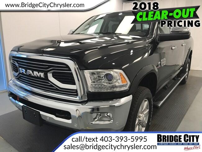 2018 Ram 2500 Laramie Longhorn-- Cummins Diesel! Truck Crew Cab