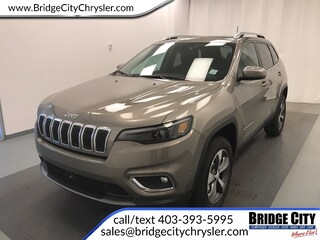 2019 Jeep New Cherokee Limited- 2.0L Turbo, Tech Group, SafetyTec! SUV