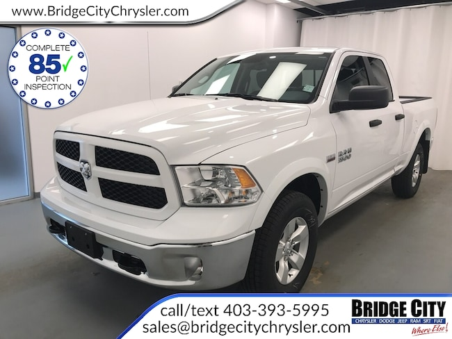 2018 Ram 1500 Outdoorsman- HEMI- Back-up Camera! Truck Quad Cab HEMI VVT V8 w/FuelSaver MDS