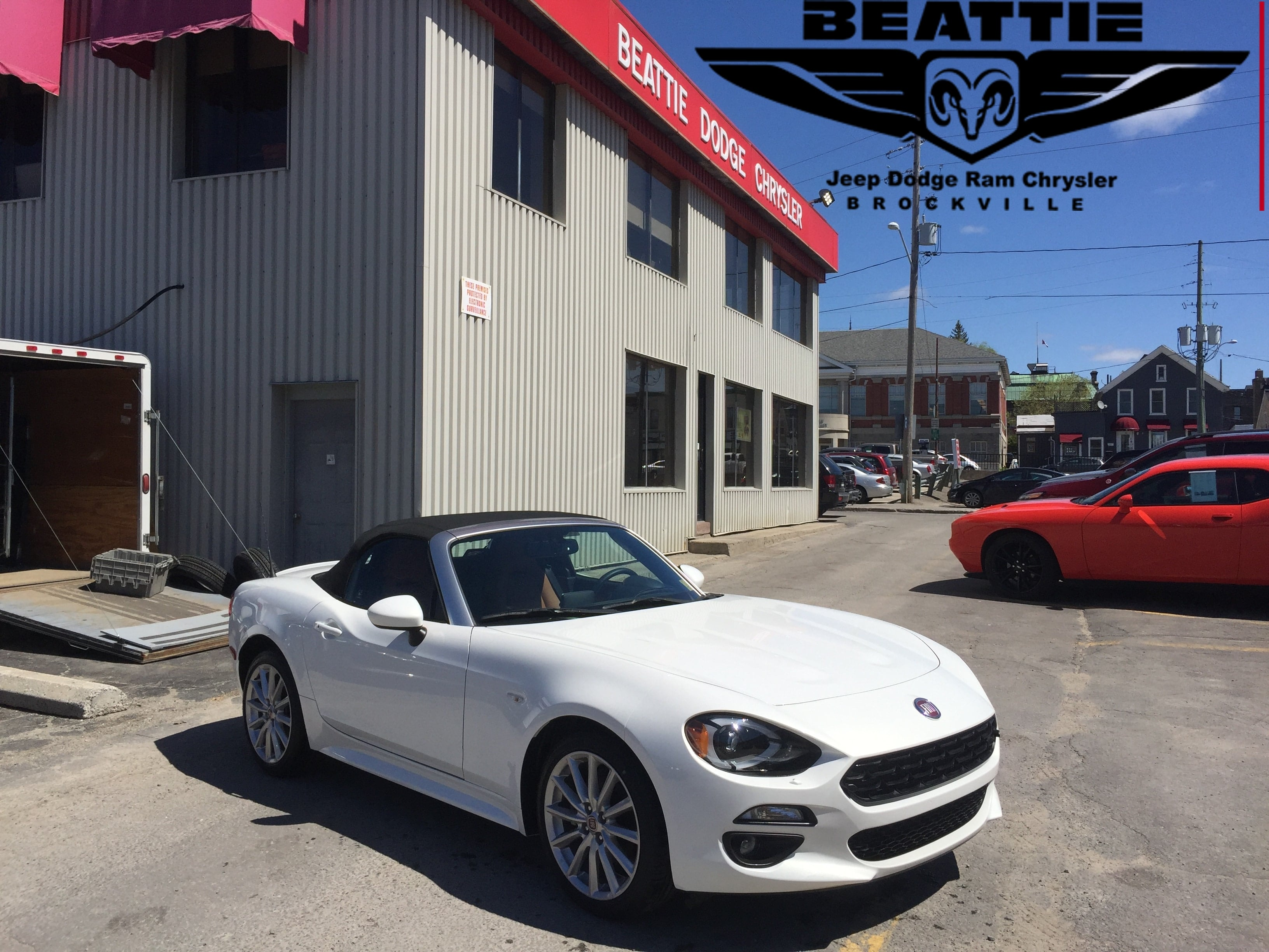 2017 FIAT 124 Spider Classica LEATHER/ BLUETOOTH/ NAV Convertible