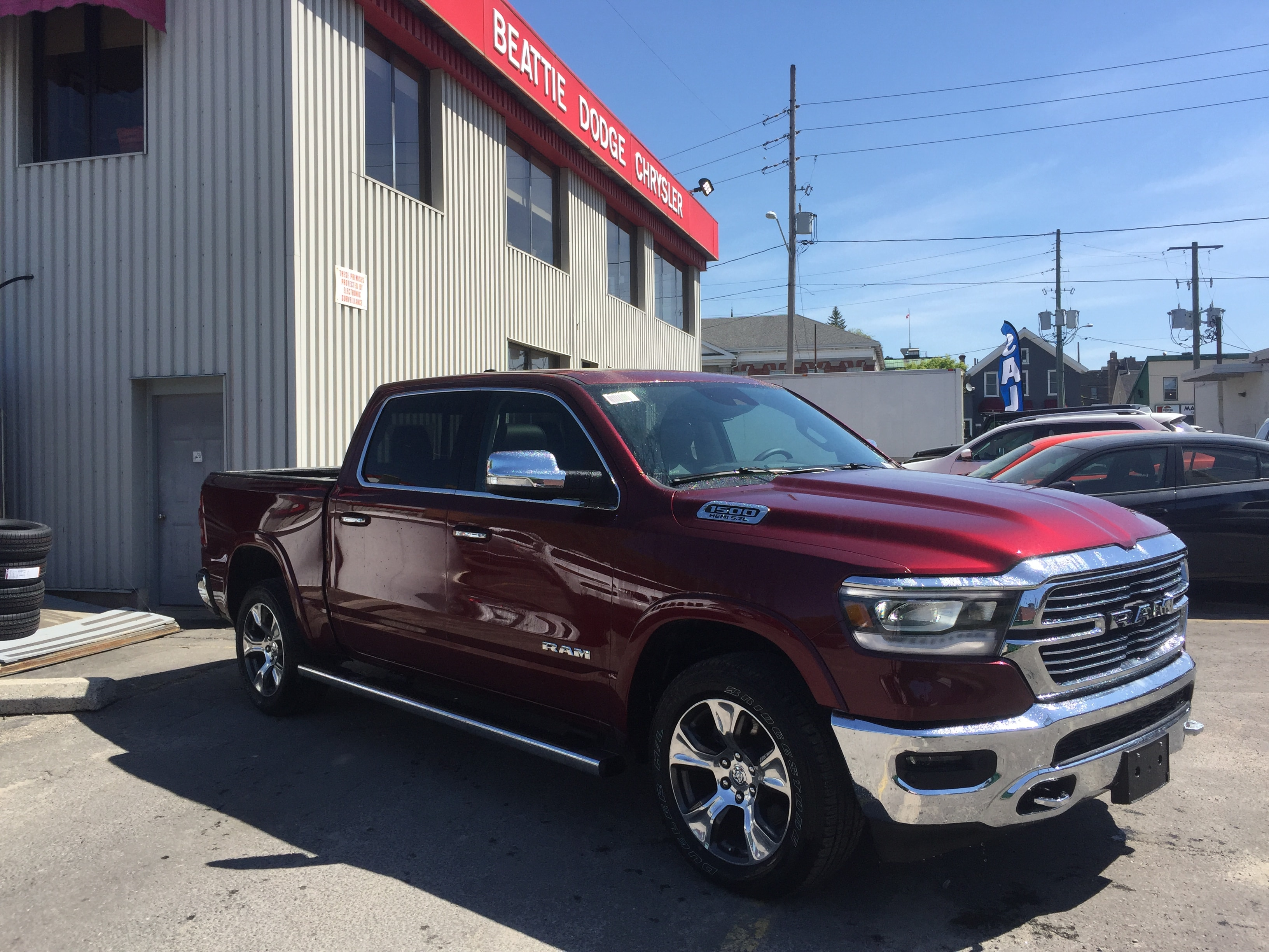 2019 Ram All-New 1500 Laramie 12 INCH TOUCHSCREEN/ DEMO Truck Crew Cab