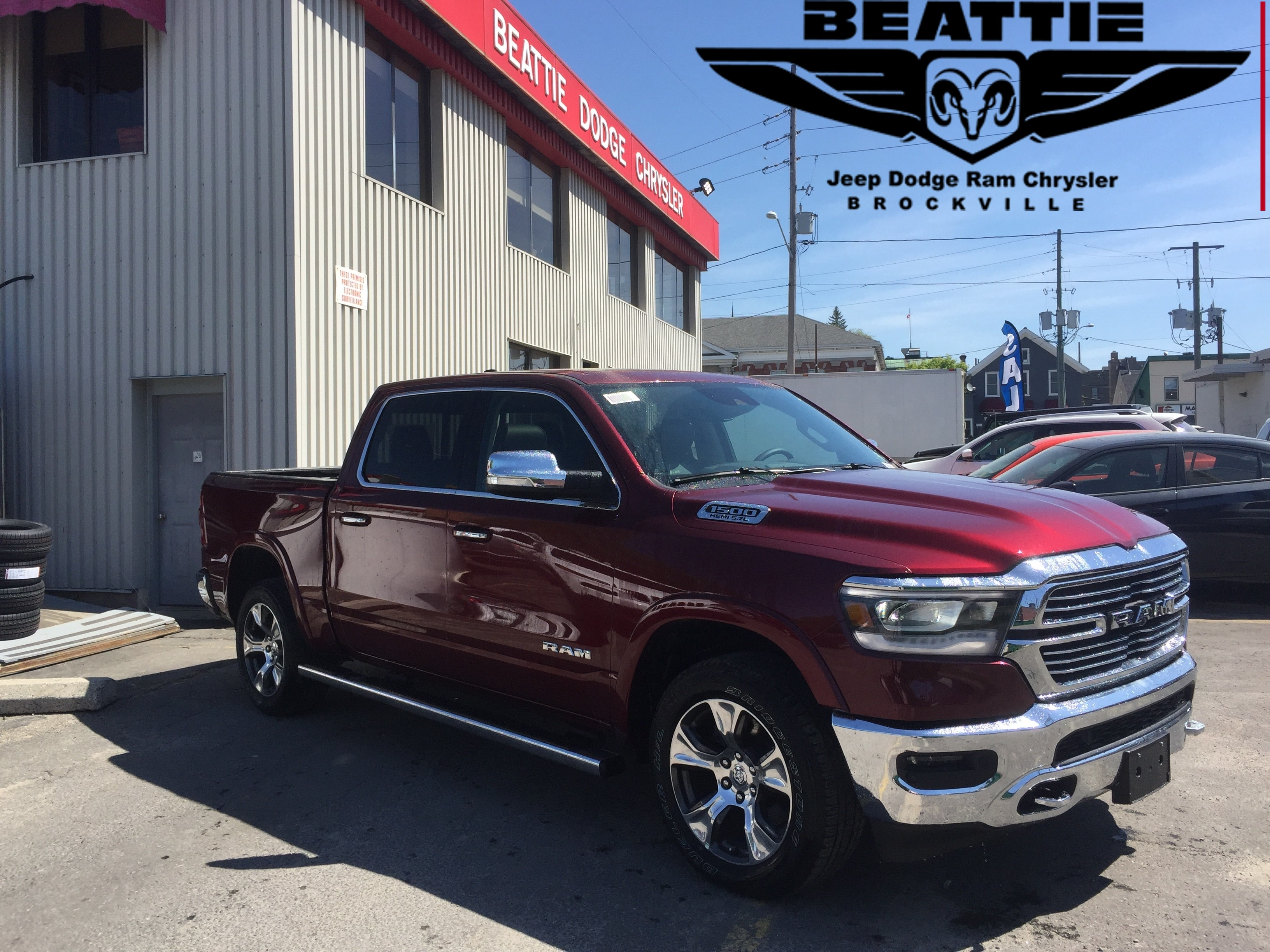 2019 Ram All-New 1500 Laramie 12 INCH TOUCHSCREEN/ OWNER  DEMO Truck Crew Cab