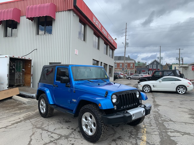 2015 Jeep Wrangler Sahara REMOTE START/ HEATED SEATS/ MANUAL SUV