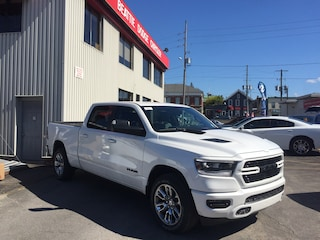 2019 Ram All-New 1500 Sport LEATHER/ TRAILER TOW GROUP/ HEATED SEATS Truck Crew Cab