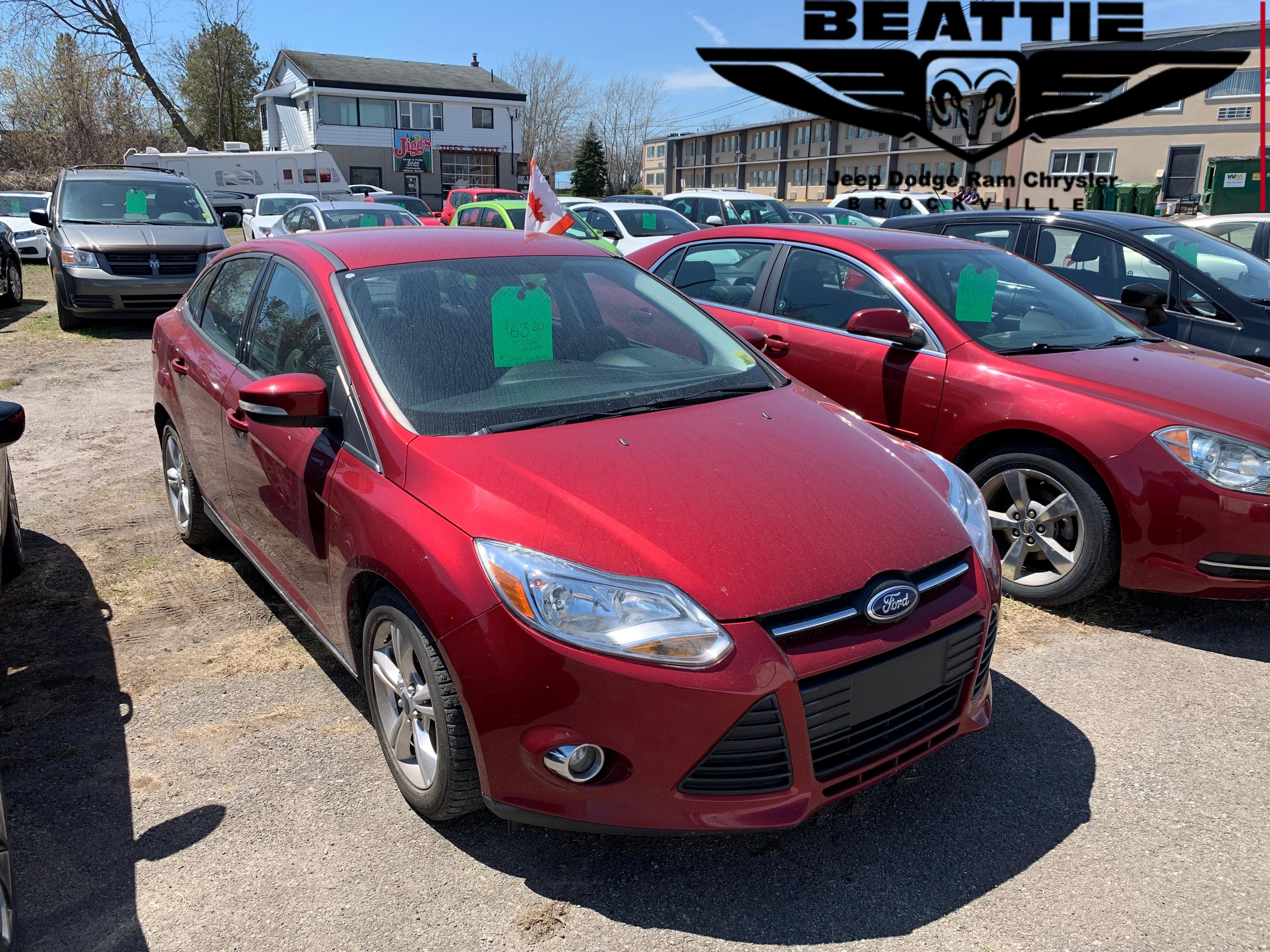 2013 Ford Focus SE BLUETOOTH/ LOCAL TRADE/ GREAT SHAPE Sedan