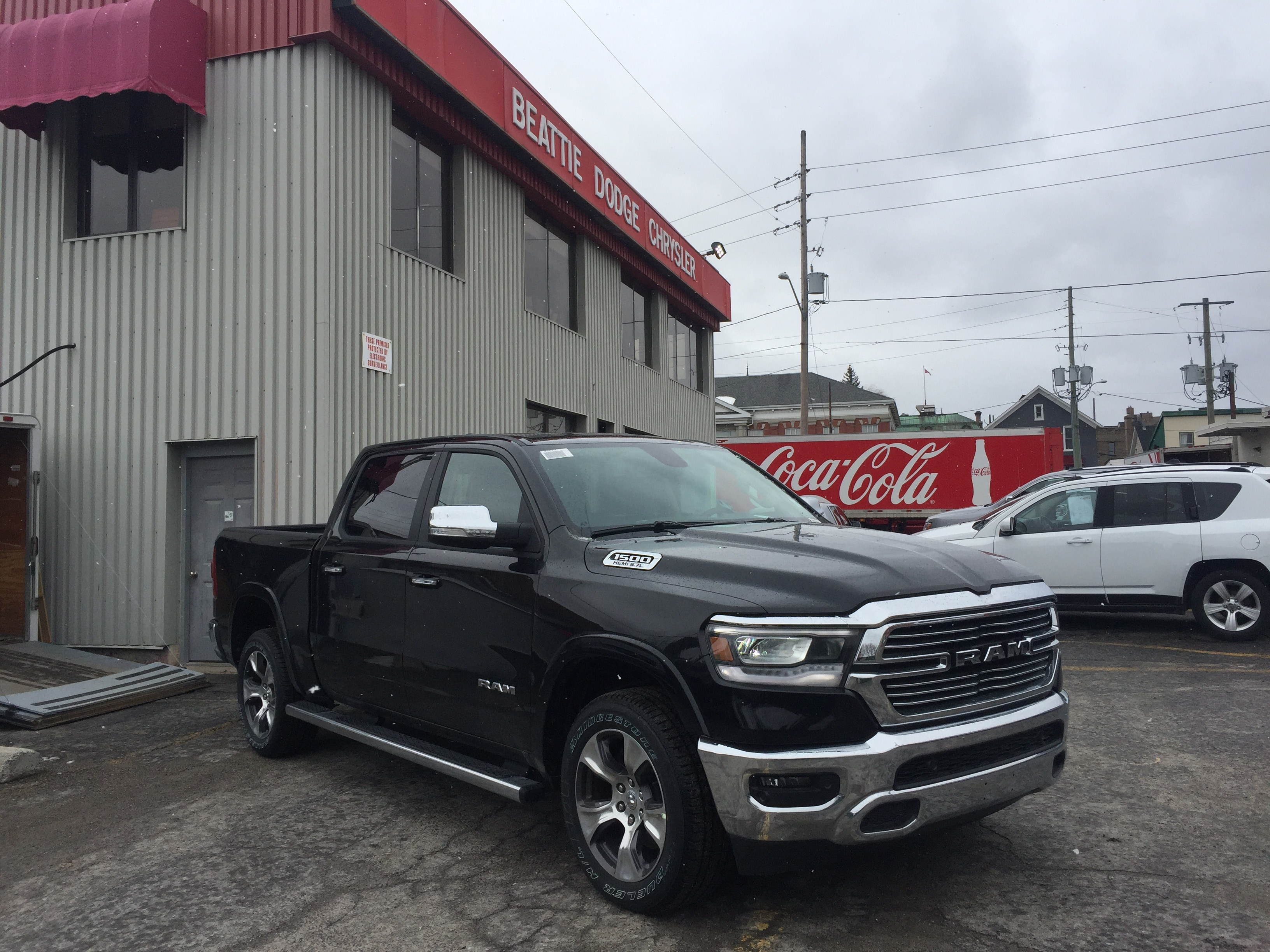 2019 Ram All-New 1500 Laramie TOW PACKAGE/ LEATHER/ FULLY LOADED Truck Crew Cab