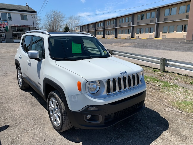 2018 Jeep Renegade Limited NAVIGATION/ LEATHER/ SUNROOF SUV