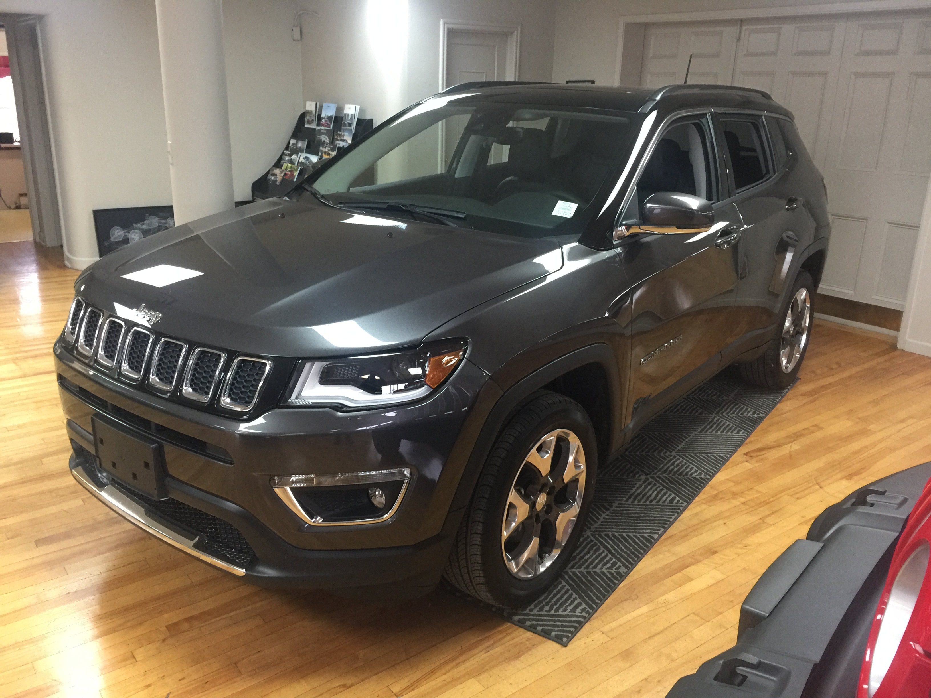 2018 Jeep Compass Limited APPLE CAR PLAY/ ANDROID AUTO/ DEMO SUV