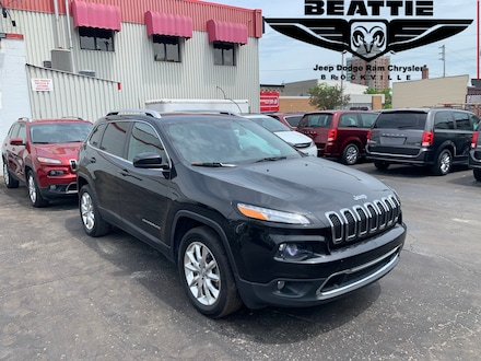 2016 Jeep Cherokee Limited LEATHER/ NAV/ HEATED GROUP SUV