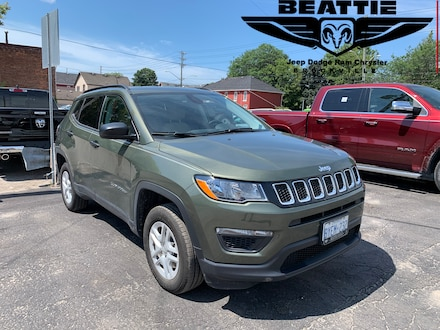 2018 Jeep Compass Sport DEMO/ BLUETOOTH/ BACKUP CAM SUV