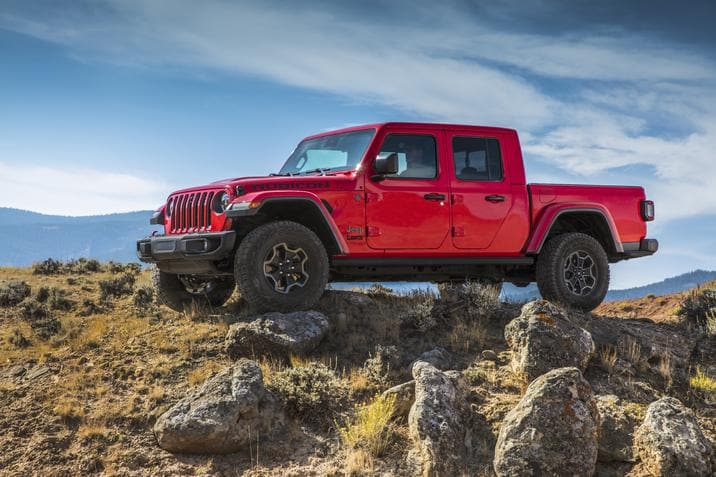 Jeep Gladiator EcoDiesel 2021