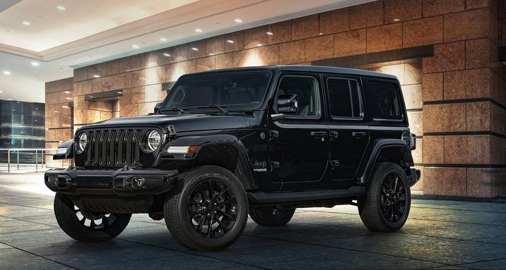 Jeep Wrangler High Altitude 2020 couleur noir