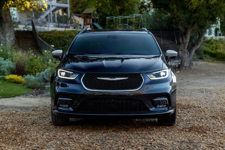 Devant de la Chrysler Pacifica 2021