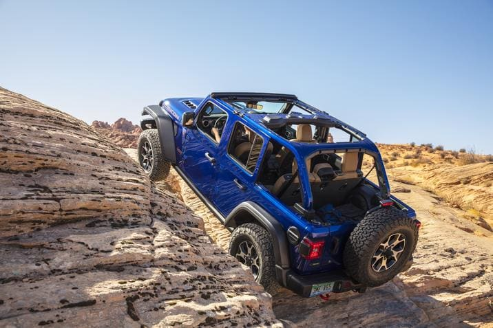 Jeep Wrangler Rubicon Ecodiesel 2020 hors route