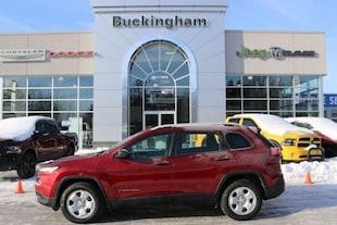 2016 Jeep Cherokee Sport Véhicule utilitaire