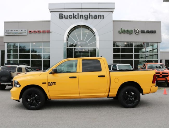 2019 Ram 1500 Classic Express Stinger Yellow Camion cabine Crew