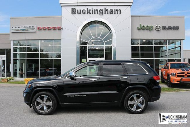 2017 Jeep Grand Cherokee Limited à Gatineau