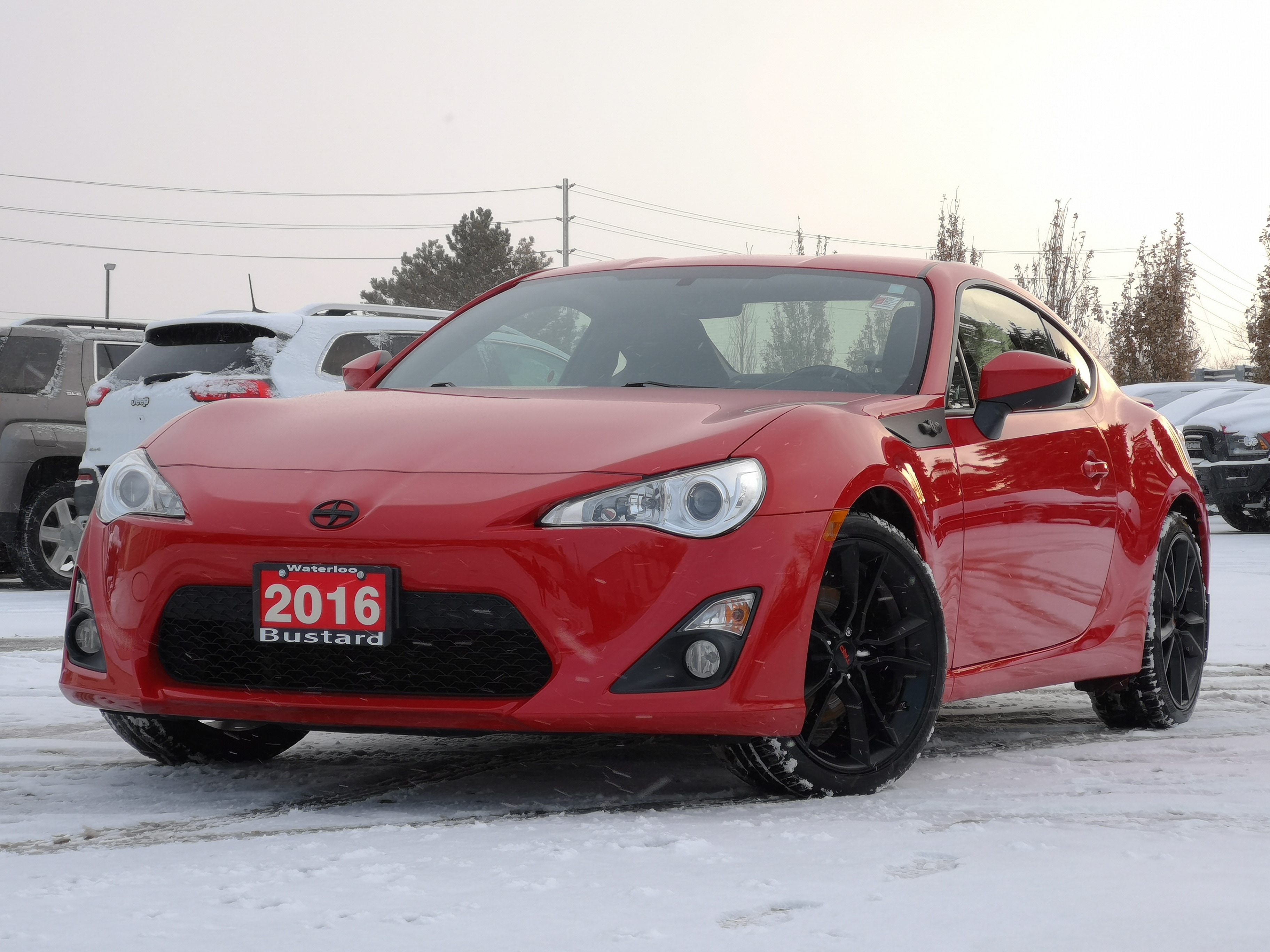 2016 Scion FR-S MANUAL | BLUETOOTH | LOW KM | TRD WHEELS Coupe