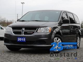 2015 Dodge Grand Caravan SE | DUAL ZONE A/C | REAR STOW/GO | POWER WINDOWS Van Passenger Van