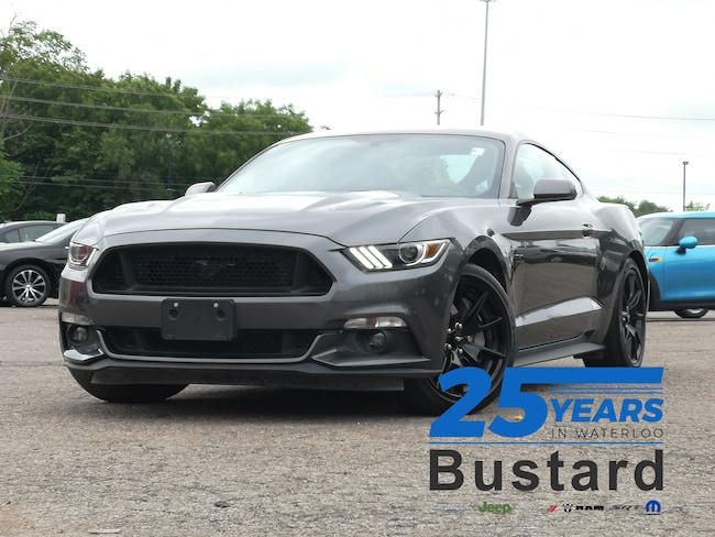 2017 Ford Mustang GT   BACK-UP CAMERA   5.0L V8   MANUAL   Coupe