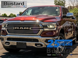 2019 Ram All-New 1500 Laramie | 4x4 | NAV | 12 Inch Display | Leather